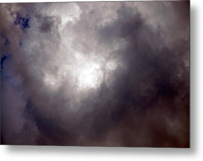 Gray Cloud Metal Print by Allen Carroll