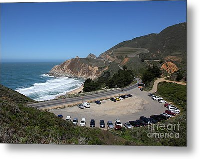 Gray Whale Cove State Beach Montara California 5d22616 Metal Print by Wingsdomain Art and Photography