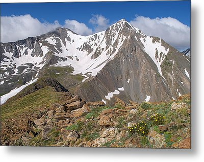 Grays And Torreys Peak Metal Print