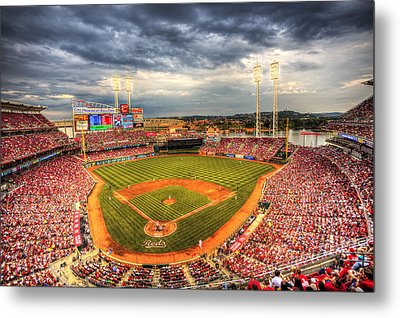 Great American Ballpark Metal Print