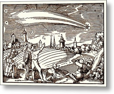 Great Comet Of 1577 Metal Print