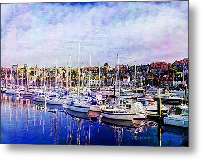 Great Day For Getting Out On The Water Featured In Abc-newbies And Photography And Textures Groups Metal Print by EricaMaxine  Price