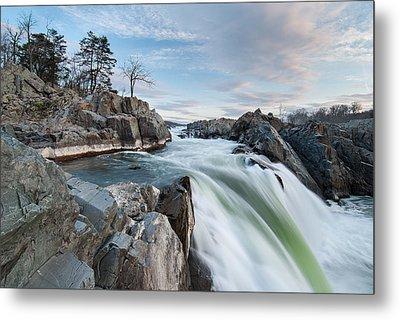 Great Falls On The Potomac River Metal Print by Mark VanDyke