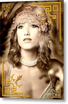 Great Gatsby Inspiration Metal Print by Donald Davis