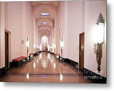 Great Hall Metal Print by Lawrence Burry