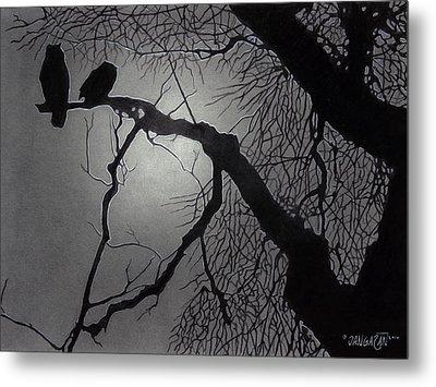 Great Horned Owl Metal Print by Tim Dangaran