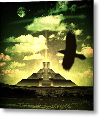 Great Mayan Dream Metal Print