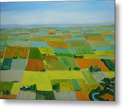 Great Plains Metal Print by Rodger Ellingson