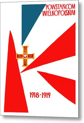 Great Polish Insurrection Of 1918 Metal Print by Historic Image