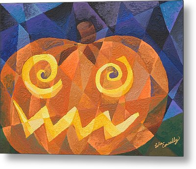 Great Pumpkin Metal Print