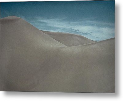 Metal Print featuring the photograph Great Sand Dunes by Don Schwartz