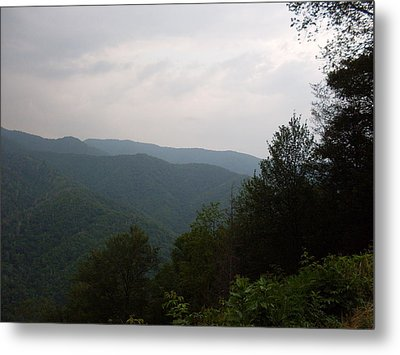 Great Smokey Mountain Metal Print by Celestial Images