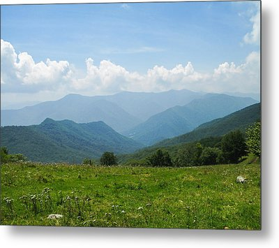 Great Smoky Mountains Metal Print by Melinda Fawver