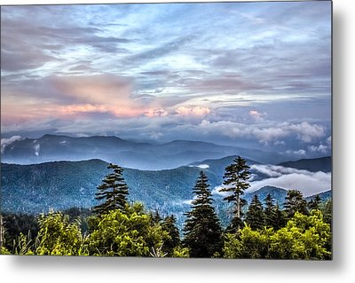 Metal Print featuring the photograph Great Smoky Mountains by Rob Sellers