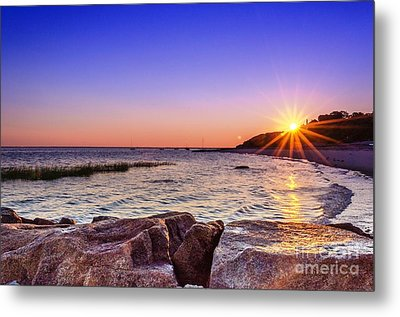 Metal Print featuring the photograph Saints Landing Cape Cod by Mike Ste Marie