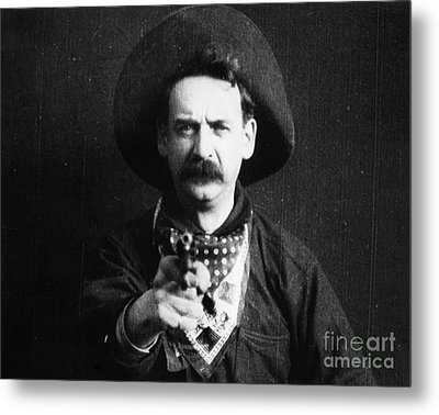 Great Train Robbery 1903 Metal Print by Granger