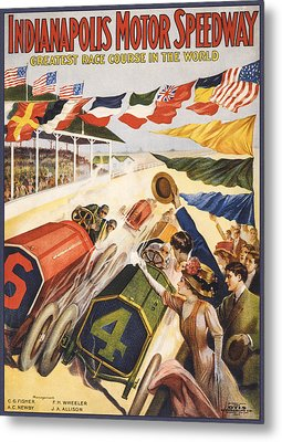 Greatest Race Course In The World Metal Print by Aged Pixel