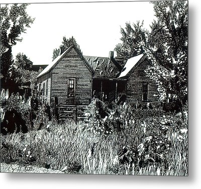 Greatgrandmother's House Metal Print by Cory Still