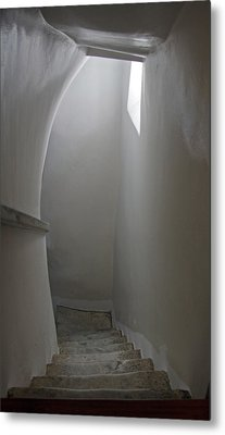 Greece, Amorgos Hallway Of The Eleventh Metal Print by Jaynes Gallery