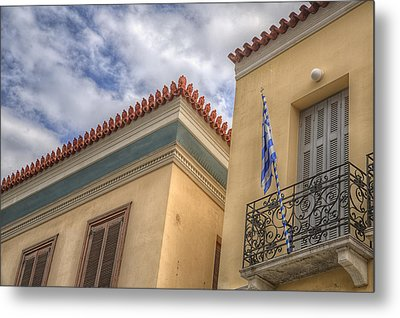 Metal Print featuring the photograph Greece by Micah Goff