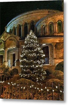 Greek Christmas Metal Print