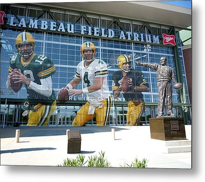 Green Bay Packers Lambeau Field Metal Print by Joe Hamilton