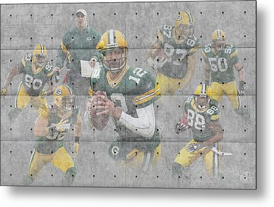 Green Bay Packers Team Metal Print