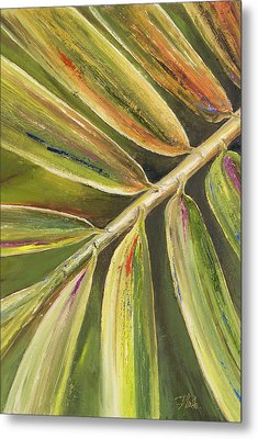Green Close Up II Metal Print by Patricia Pinto