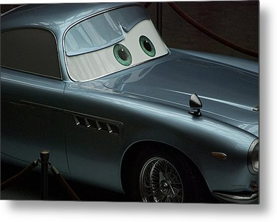 Green Eyed Finn Mcmissile Metal Print by Thomas Woolworth