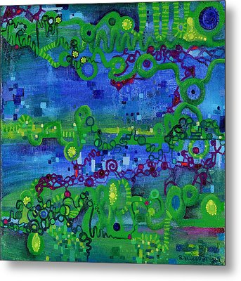 Green Functions Metal Print by Regina Valluzzi