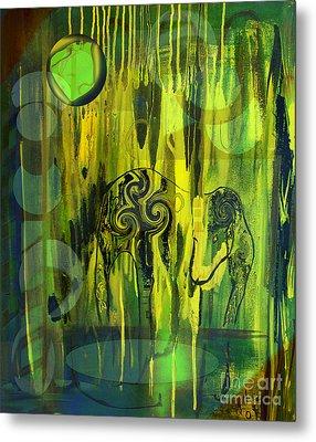 Green Light Metal Print by Yul Olaivar