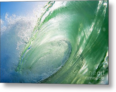Metal Print featuring the photograph Green Machine by Paul Topp