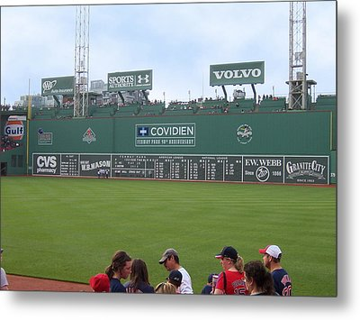 Green Monster Metal Print by Catherine Gagne
