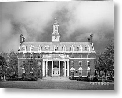 Green Mountain College Ames Hall Metal Print by University Icons