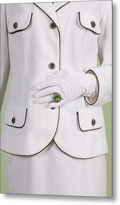Green Ring Metal Print by Joana Kruse