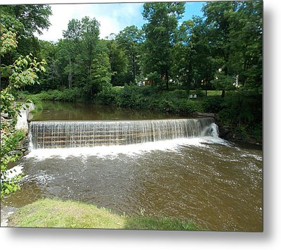 Green River Dam Metal Print by Catherine Gagne