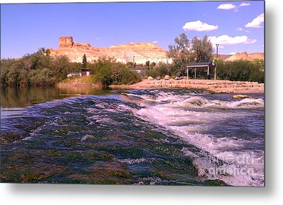 Green River Rapids Metal Print by Chris Tarpening