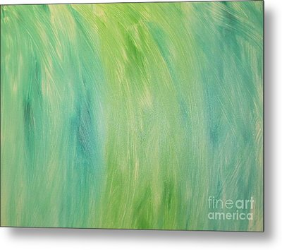 Green Shades Metal Print
