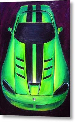 Green Viper Metal Print by Sheri  Chakamian
