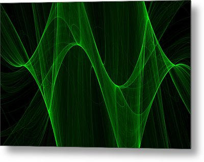 Green With Envy Metal Print by Pennie Gibson