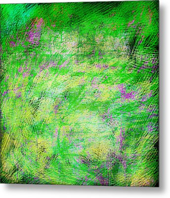 Green With Envy Series II Metal Print by Marianne Campolongo