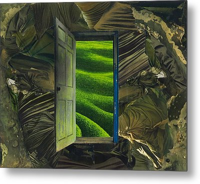Greener Pastures Metal Print by Denise Mazzocco