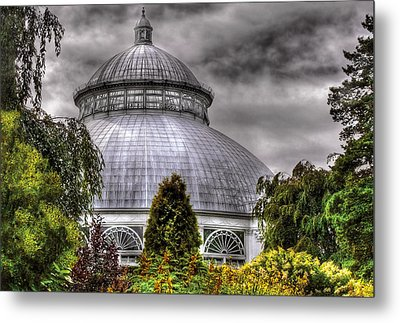 Greenhouse - The Observatory Metal Print by Mike Savad