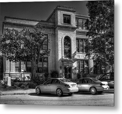 Greensburg Junior High School Metal Print