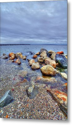 Metal Print featuring the photograph Greenwich Bay by Alex Grichenko