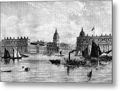 Greenwich Hospital Metal Print by Collection Abecasis