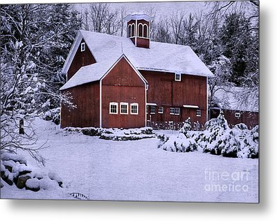 Greetings From New England Metal Print