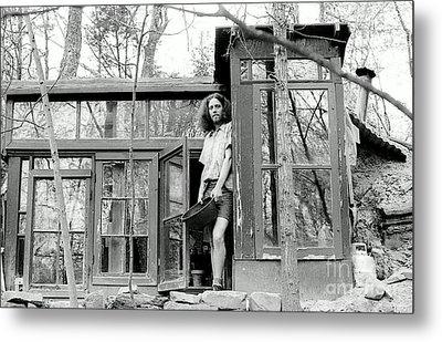 Greg's Solar Home 1979 Metal Print by Ed Weidman