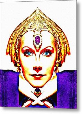 Greta Garbo Alias In Mata Hari Metal Print by Art Cinema Gallery
