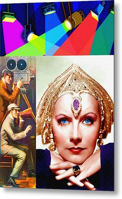Greta Garbo In Mata Hari Metal Print by Art Cinema Gallery